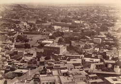 [Panoramic view of Jodhpur.]